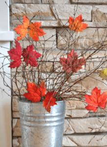 maple leaf bucket