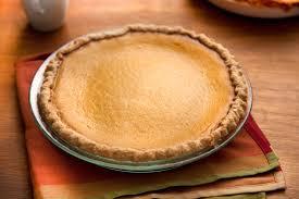 pumpkin eggnog pie