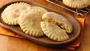pumpkin pie stuffed cookies
