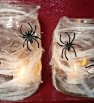 spider web jar
