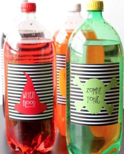 cute soda labels