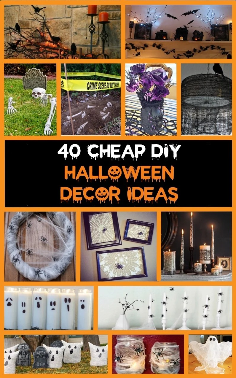 40 Cheap & Easy DIY Halloween Decorations Prudent Penny