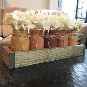 50 Mason Jar Fall Crafts Prudent Penny Pincher