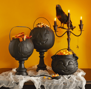 pumpkin cauldrons