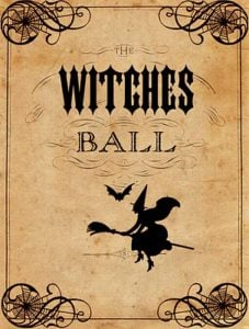 witch's ball printable