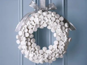 wreath-marshmellow