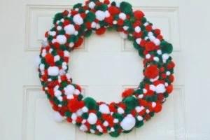 wreath-pompom
