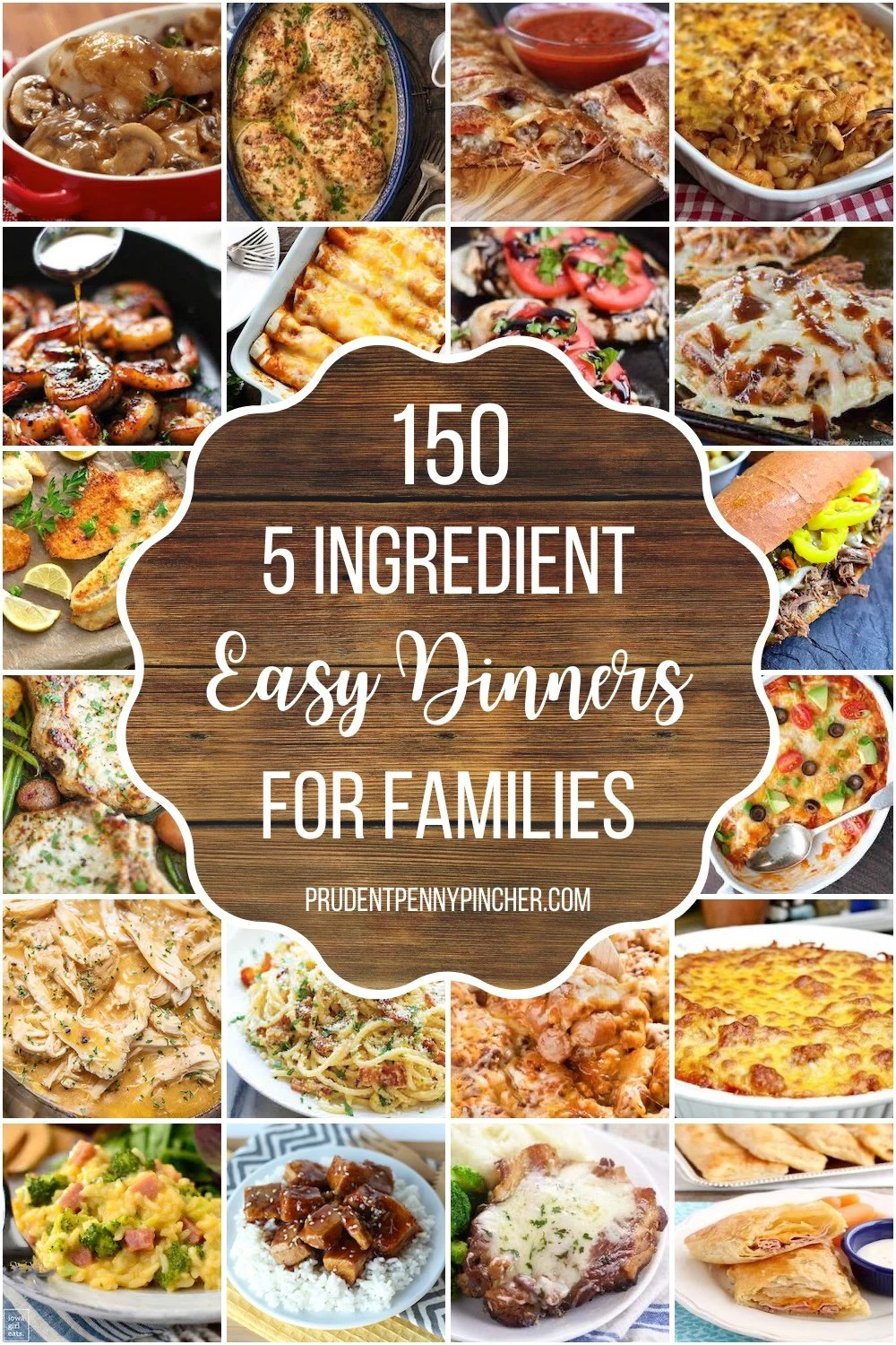 5 Ingredient Easy Dinner Recipes for Families