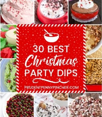 30 Best Christmas Party Dips