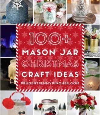 100 Mason Jar Christmas Crafts