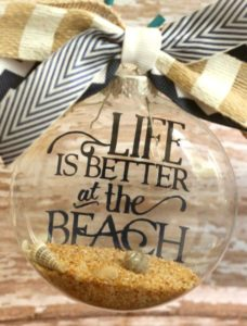 beach-quote-clear-filled-ornament2