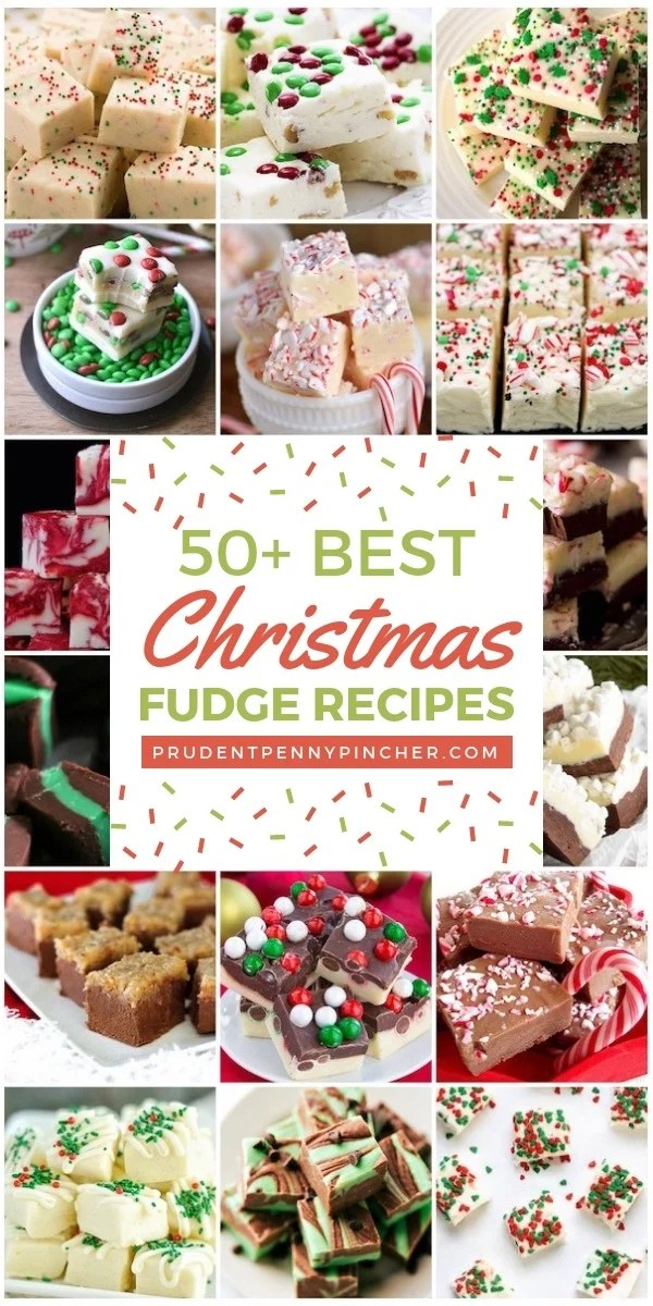 50 Best Christmas Fudge Recipes