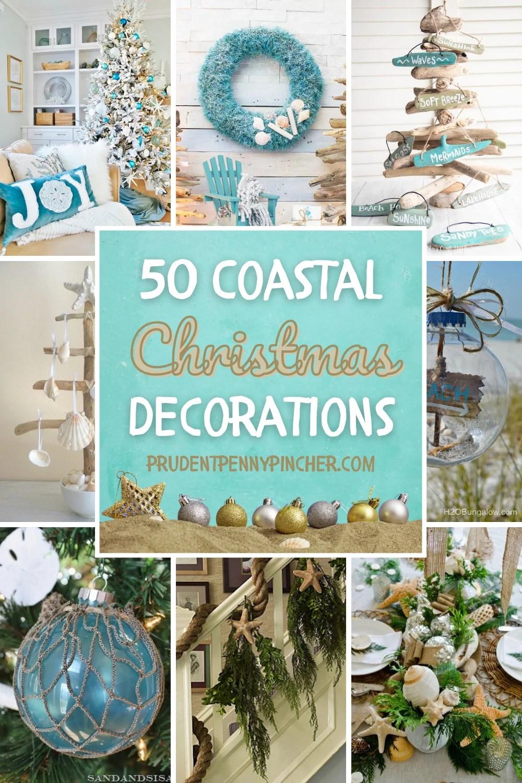 50 coastal christmas decorations