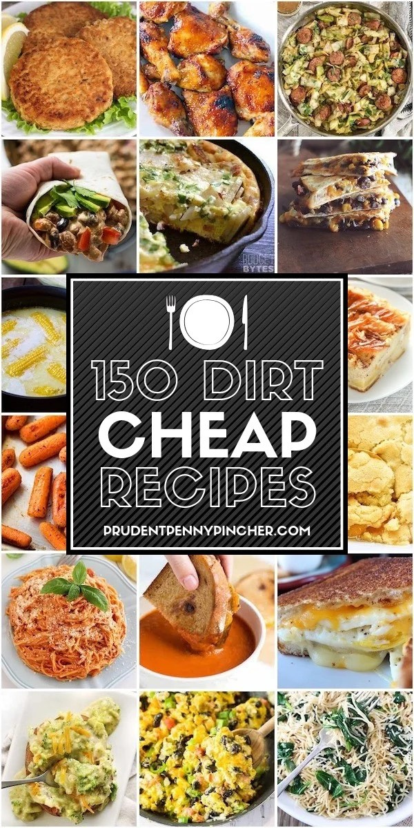 150 Dirt Cheap Recipes