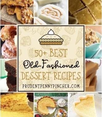 50 Best Old Fashioned Desserts