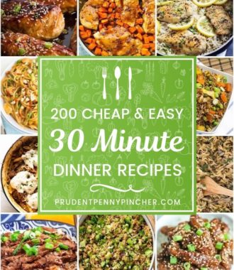 200 Cheap and Easy 30 Minute Meals