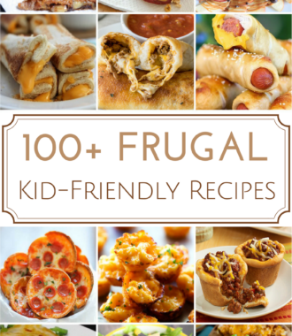frugal kid-friendly recipes