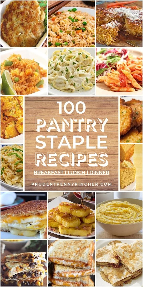 100 Cheap and Easy Pantry Staple Recipes