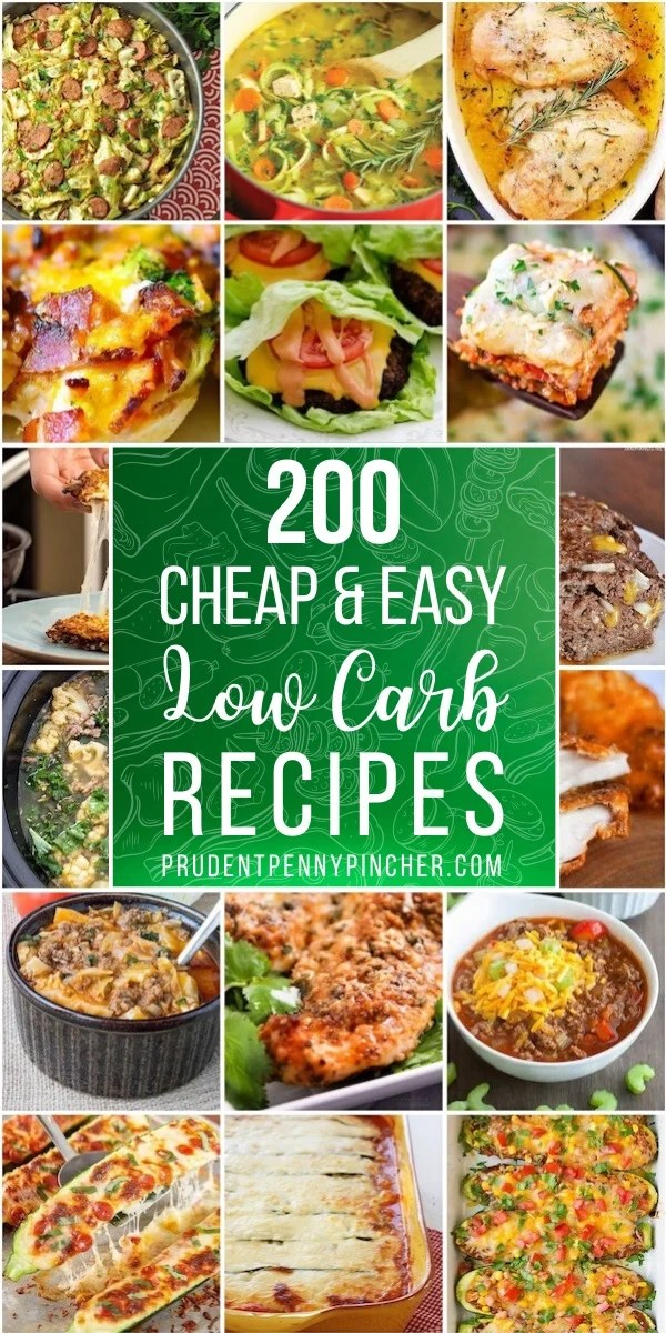 100 Cheap and Easy Low Carb Recipes