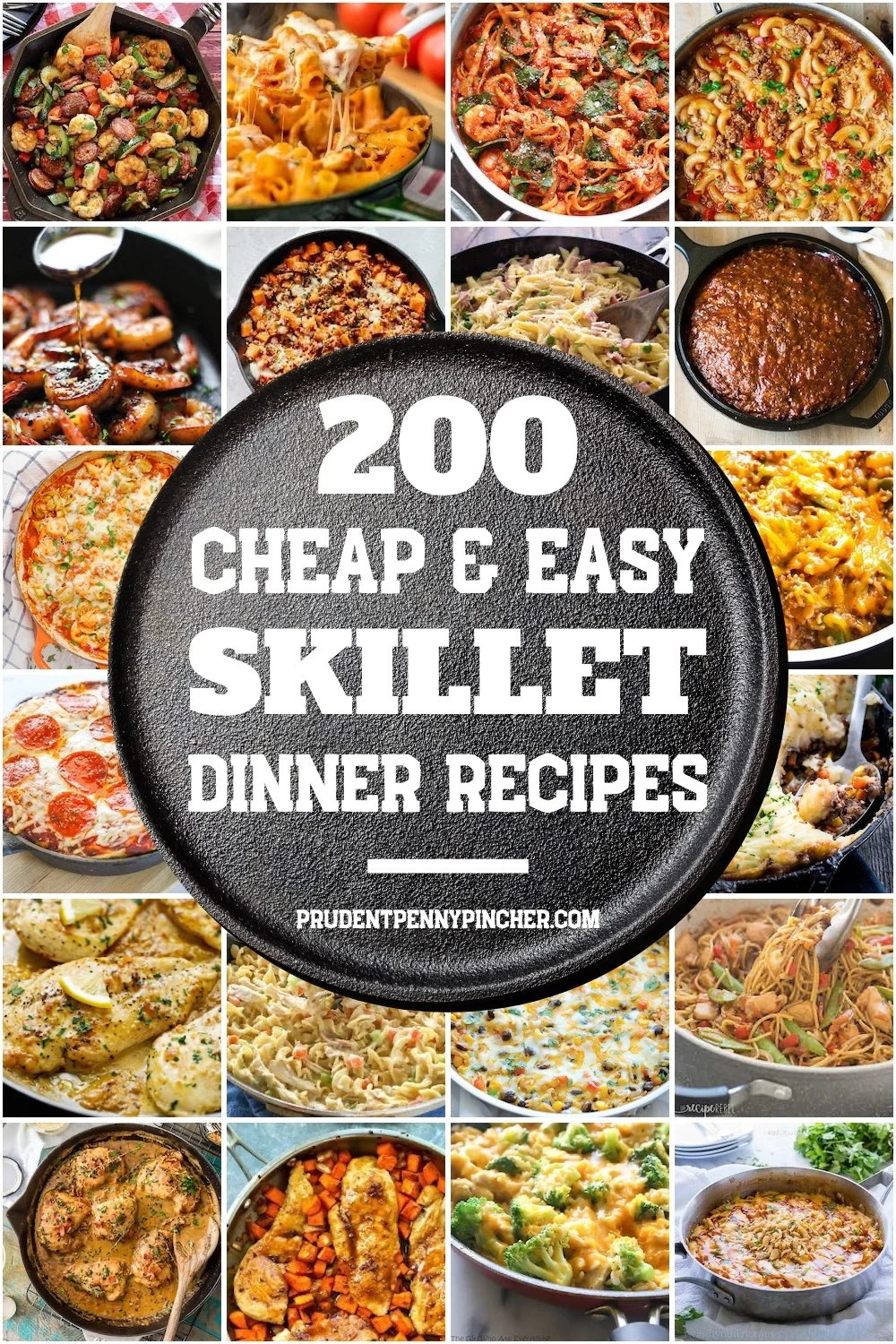 200 Cheap and Easy Skillet Recipes