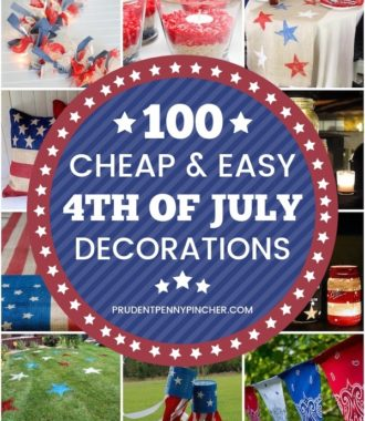 100 Cheap and Easy 4th of July Decorations