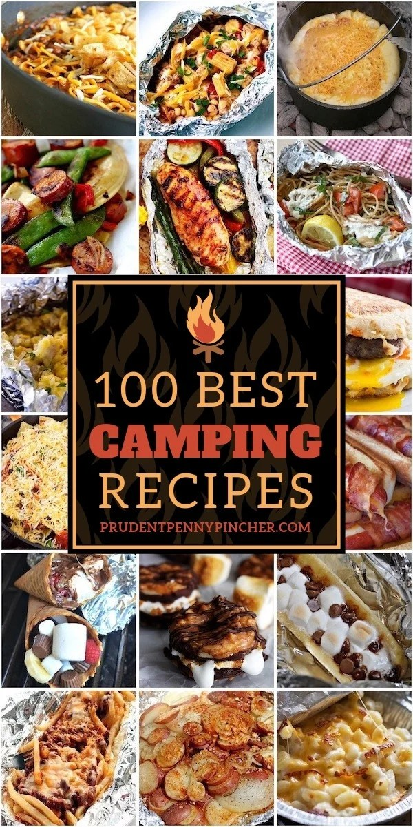 100 Best Camping Recipes Prudent Penny Pincher
