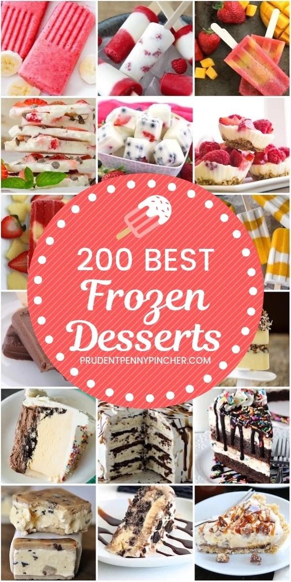200 Best Frozen Desserts for Summer