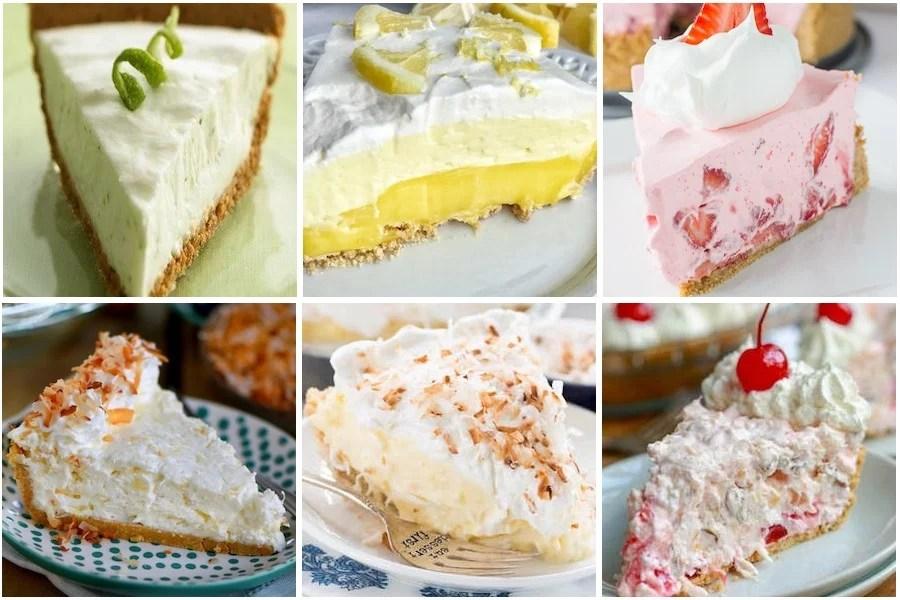 Fruit No Bake Pies