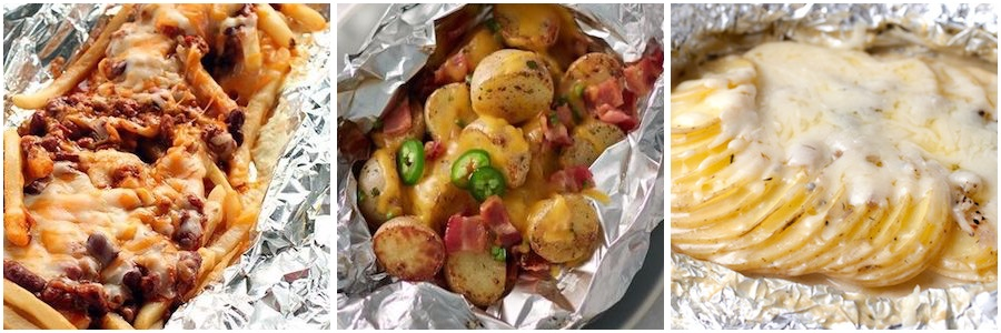 Grilled Potato Foil Pack Dinners