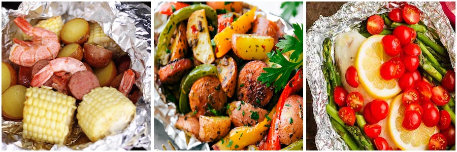 Foil Pack Dinners for the Oven