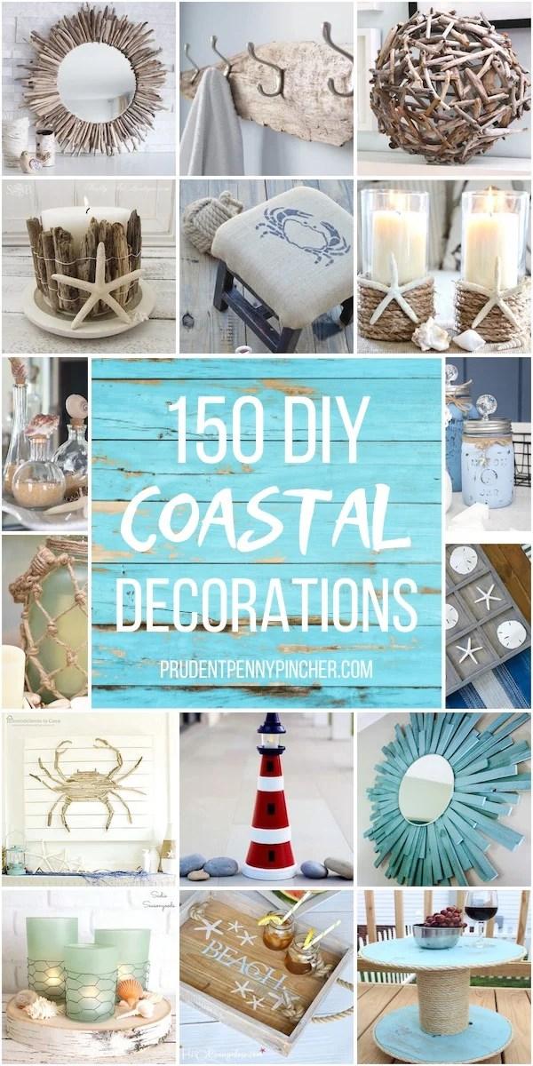 150 Coastal Diy Home Decor Ideas Prudent Penny Pincher