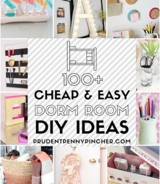 100 Cheap and Easy Dorm Room Ideas