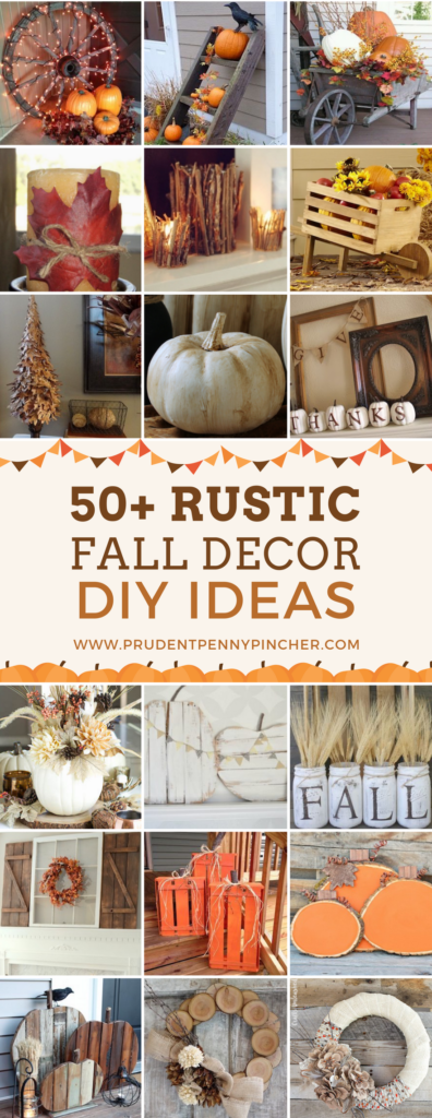 50 Rustic Fall Decor DIY Ideas