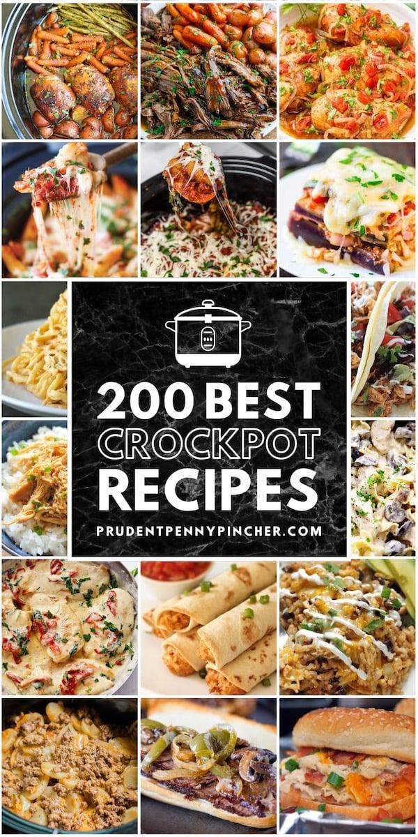 200 Best Crockpot Recipes Prudent Penny Pincher