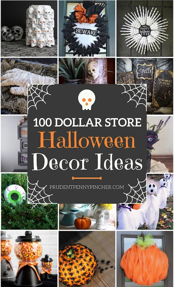 12+ Cheap & Easy DIY Halloween Decorations - Prudent Penny Pincher