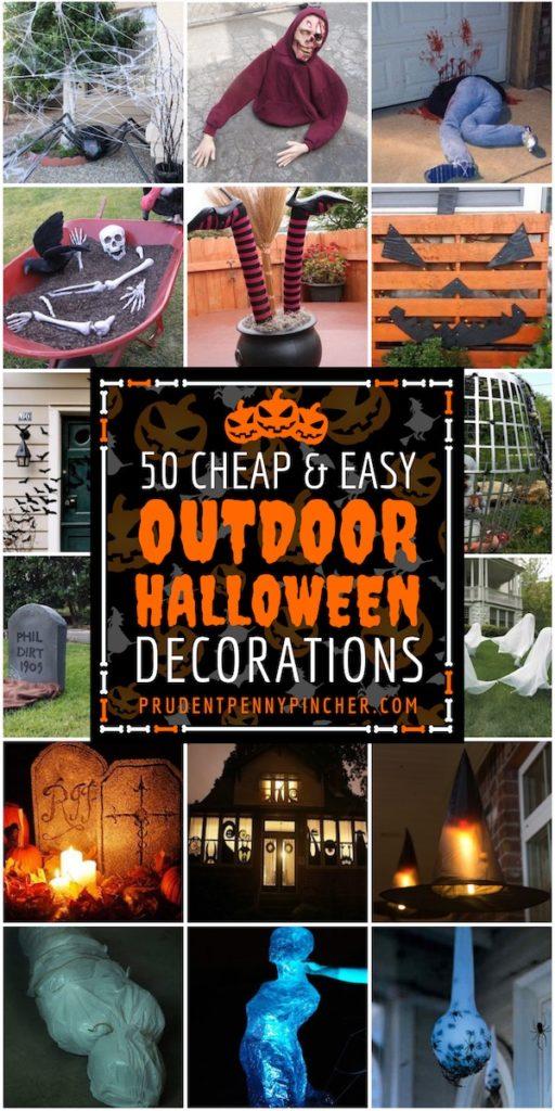 50 DIY Outdoor Halloween Decor Ideas
