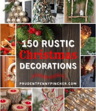 100 Best Rustic DIY Christmas Decorations