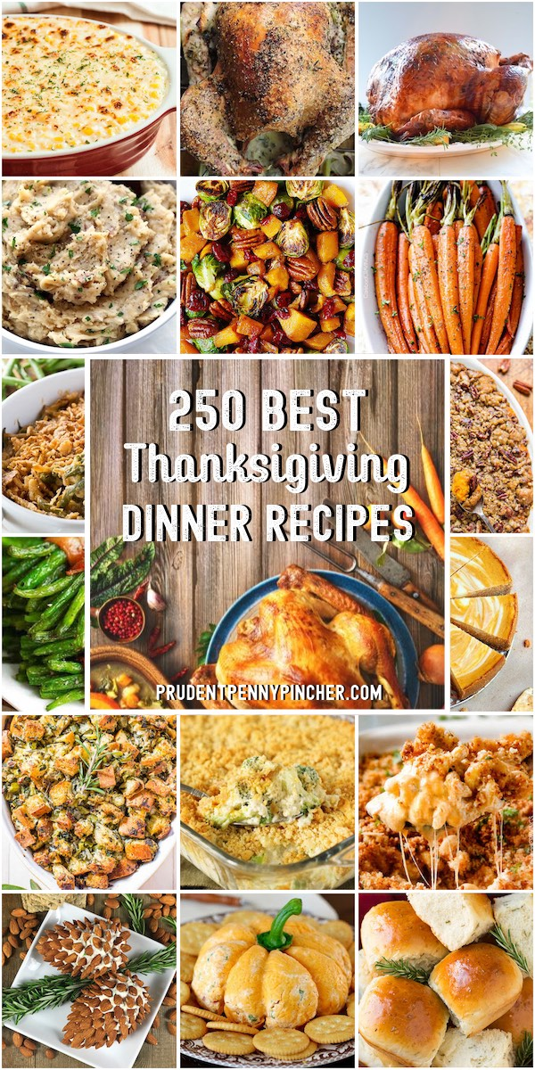 250 Best Thanksgiving Dinner Recipes