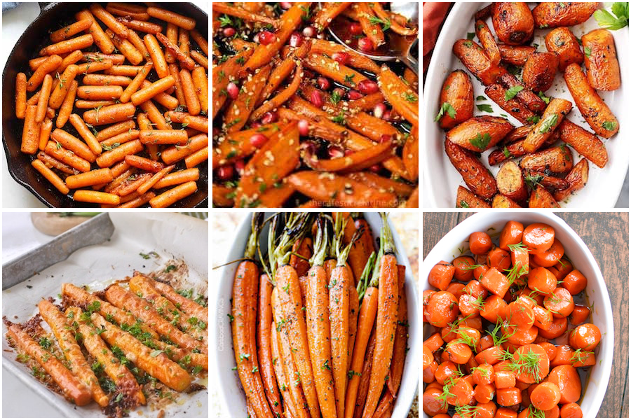 thanksgiving carrot recipes