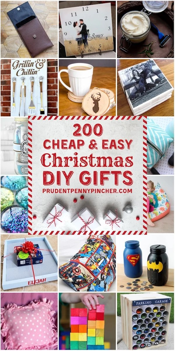 200 Cheap and Easy DIY Christmas Gifts