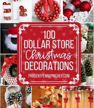 100 Dollar Store DIY Christmas Decorations