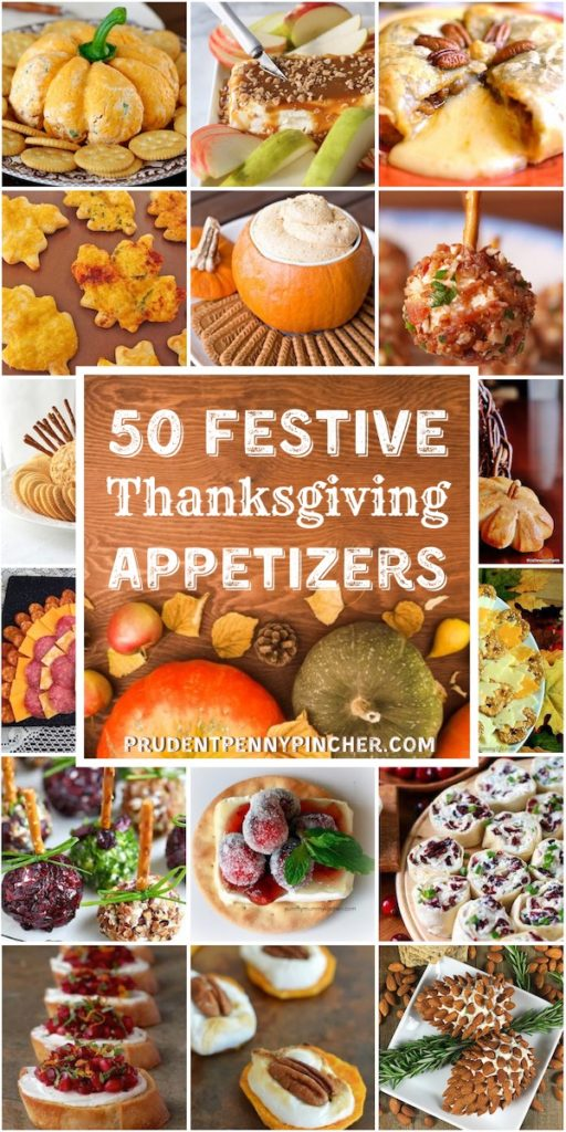 50 Festive Thanksgiving Appetizers