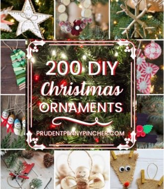 200 DIY Christmas Ornament