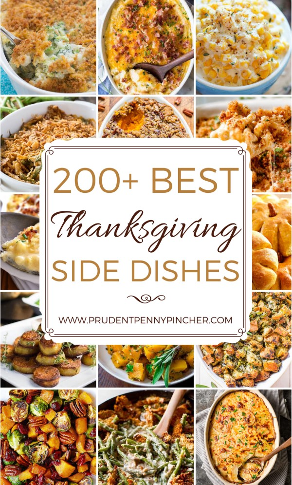 200 Best Thanksgiving Side Dishes