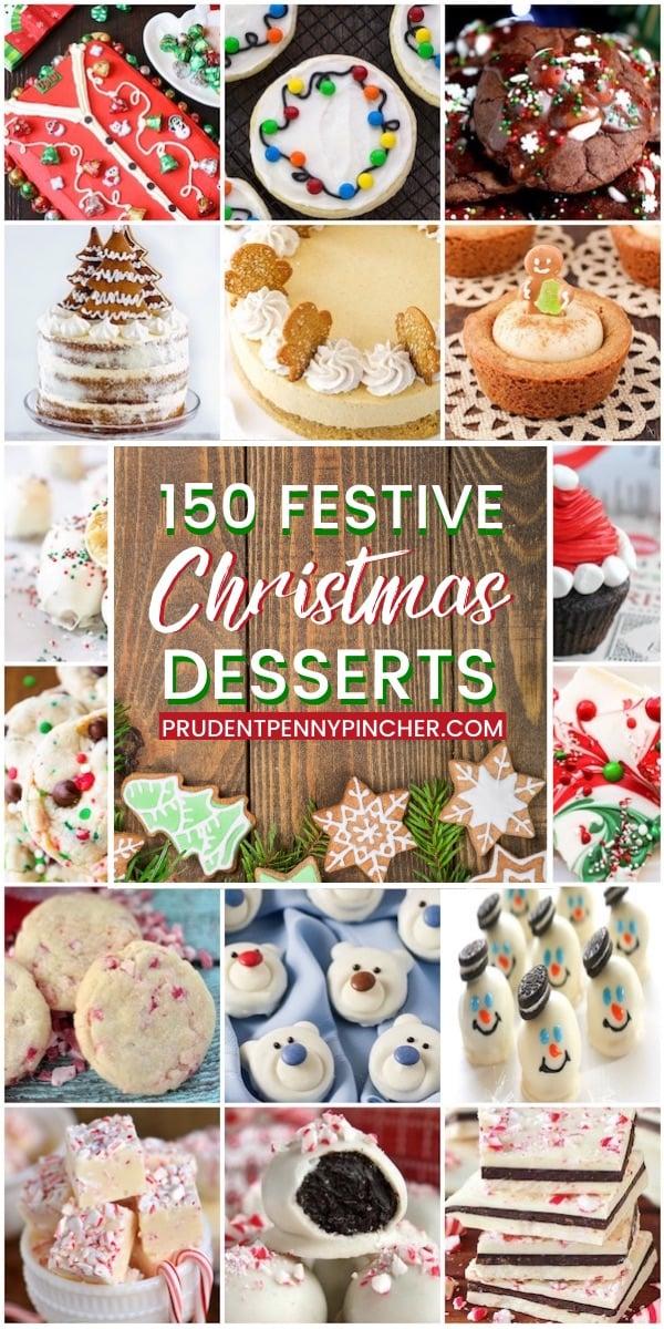 150 Festive Christmas Desserts