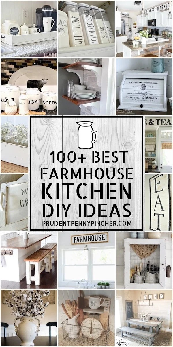 100 Best DIY Farmhouse Kitchen Ideas