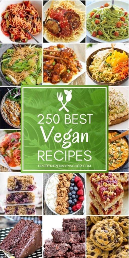 250 Best Vegan Recipes