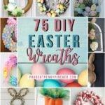 75 Best DIY Easter Wreaths