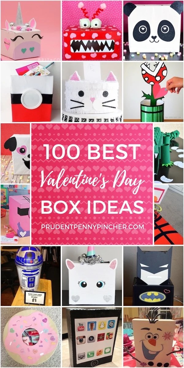 100 Best Valentine Box Ideas Prudent Penny Pincher