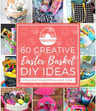 60 Creative DIY Easter Basket Ideas